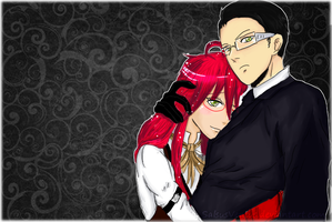 Grell x William by SalsusVentus