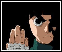 Rock Lee by invisiblejohnny