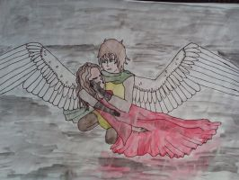 Anime guardian angel and lost love by Bluegamercatlady