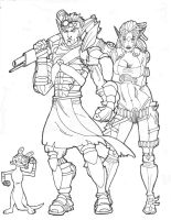 Jak and Ashelin Humanized by Kateryl1907