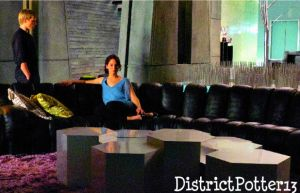 Katniss and Peeta Talking by DistrictPotter13