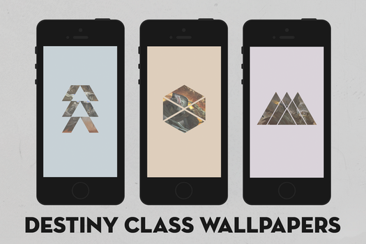 Destiny Class Wallpapers by Xeromatt