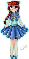 CM for rose-anime-power 3 by Tenshi-MiharU