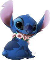 Stitch by DragginCat