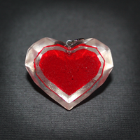 LoZ - Heart container pendant by SuperSiriusXIII