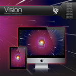 Vision Desktop Background by Bonvallet