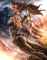 Rise of the Tomb Raider by BornTewSlow