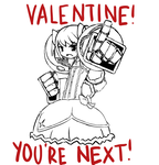 VALENTINES CARD NINE by COMMISSAR-NYORON