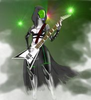 Heavy Metal Quarian by upshdragoon
