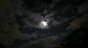 fullmoon over zurich by oceanbased