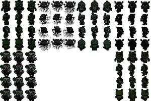 RPG Maker - FNAF3 Characters by willer111