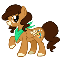 Doodle Dot - My Little Pony: FIM OC by peanutfilbert