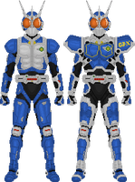 Kamen Rider G3 and G3-X by Taiko554