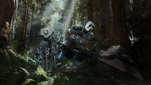 Endor -  Before The Skirmish by Aste17
