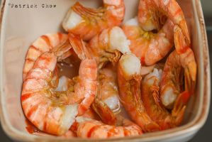 Steamed prawns by patchow