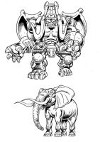 Beast Wars Santon by Simon-Williams-Art