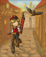 Postman Link by YamiRedPen