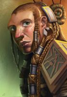 Female Dwarf by JoeSlucher