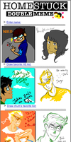 Me_And_VP: Homestuck Double Meme by Sir-Dance-A-Lot