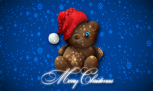 Merry Christmas Wallpaper by Andycoco
