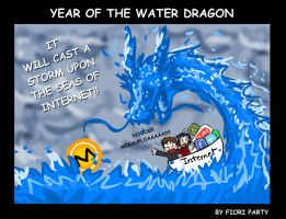 Year of the Water Dragon by fiori-party