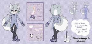 [Reference] Roderich the Chinchilla (OUTDATED) by WispyVee