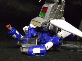 Decepticons are tough, but not enough for Grimlock by forever-at-peace