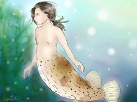 Puffer waters by chibiaddict4ever