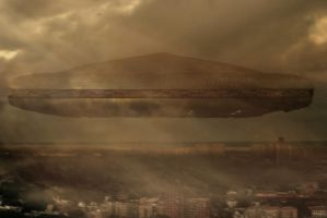 Co Op City UFO by bobbyboggs182