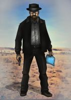 Breaking Bad- Heisenberg by MatthewHogben