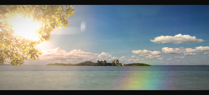 Ancient Island by cocoonH