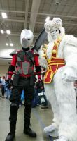 ultra humanite and deadshot by metal-otaku