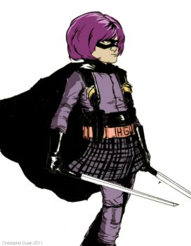 Hit Girl by noisecollapse