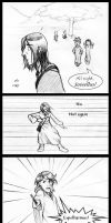 Picking on Snape by laerry