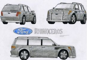 0902 - 09-02 - Ford Rhinoceros by TwistedMethodDan