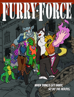 Here Comes Furry Force by Bug-Off