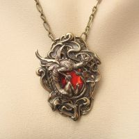 Dragon Pendant by shambleramble