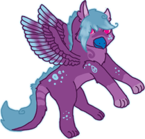 Hatched Gryphon Chick 6 by KittehzAdopts