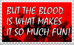 Bloody Fun STAMP by Onslaught14