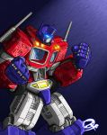 Optimus Prime by fargnay