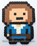 River Song Full Body Perler (Doctor Who) by Tharidra
