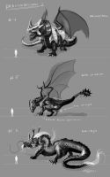 Dragondesigns 2012 No.2 by Brollonks