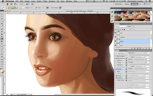 Lily Collins First Pass by ThisIsArtMaybe