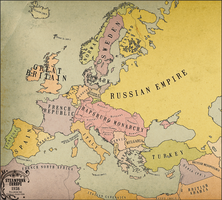 1938: Steampunk Europe by groenbjerg