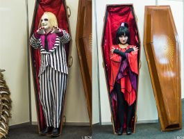 Coffins by LaisAbove