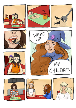 Witch Up | Chapter 1 Wake Up | Page 2 by caspisan