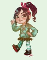 Vanellope by drakonarinka
