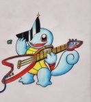 #007 - Squirtle (Guitar version) by GTS257-CT