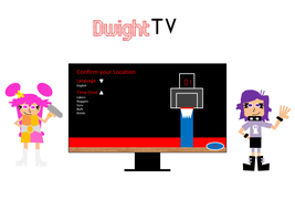 Ami and Yumi Setup a Dwight TV by gamenskate5