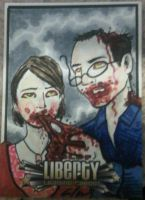 Zombie CBLDF LIBERTY AP card by phymns